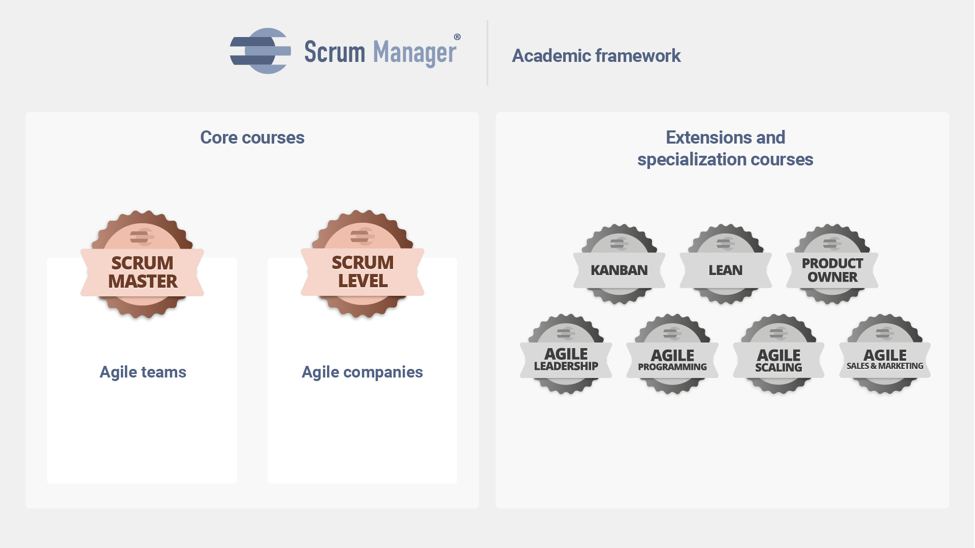 scrum manager courses