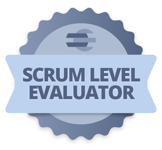 Credencial Scrum Level Evaluator